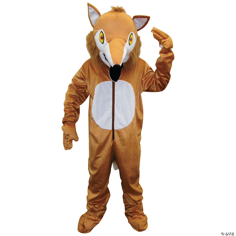 Adult's Fox Mascot Costume Audio Thumbnail