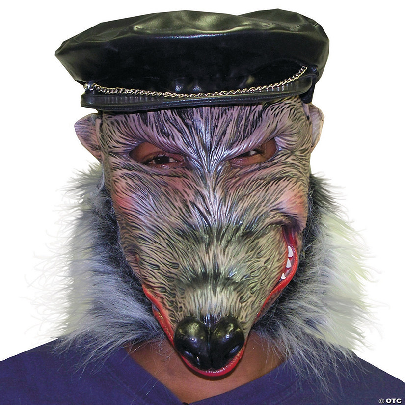 Adult's Halloween Dirty Rat Mask