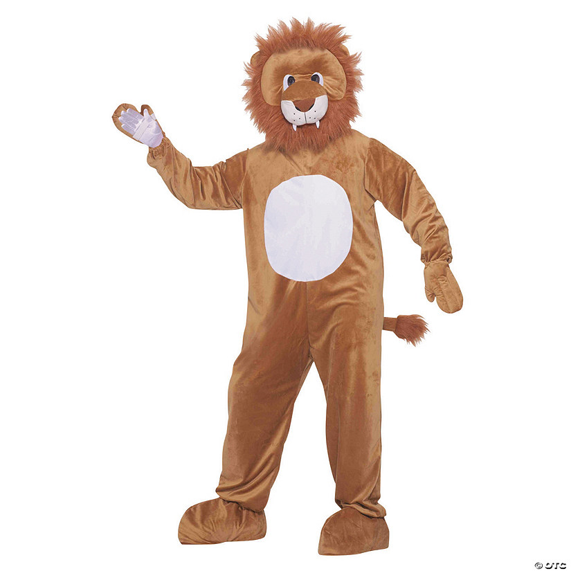 Adult's Leo The Lion Mascot Costume