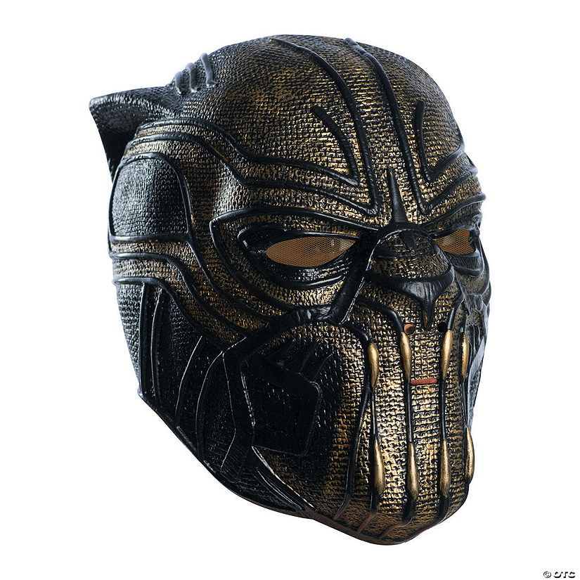 Adult's Marvel Black Panther™ Killmonger 3/4 Mask Audio Thumbnail