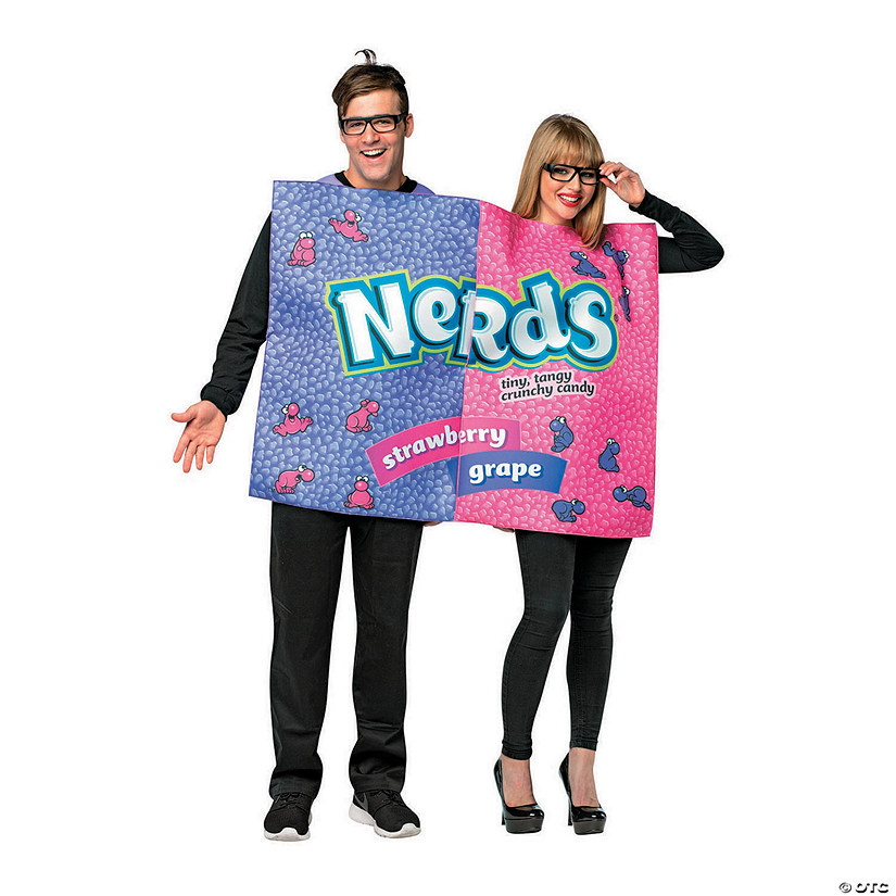 Adult's Nerds Box Couples Costume