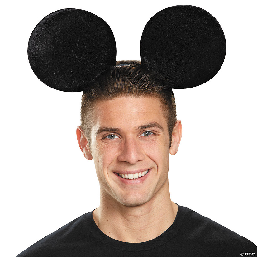 Adult's Oversized Mickey Mouse Ears