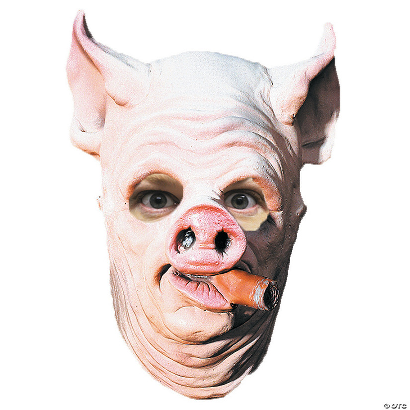 Adult's Pig Out Mask