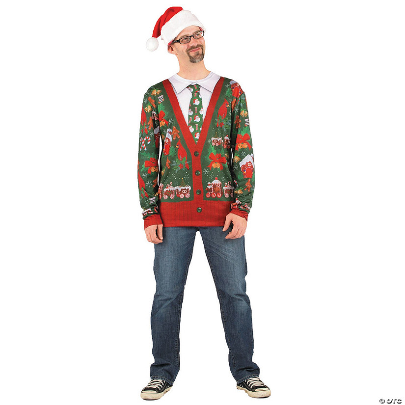 Adult's Ugly Christmas Sweater Shirt Audio Thumbnail