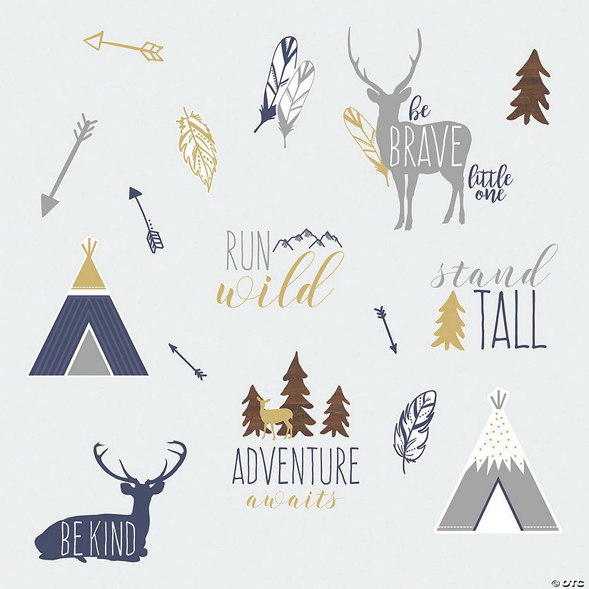 Adventure Awaits Animal Peel & Stick Wall Decals Audio Thumbnail