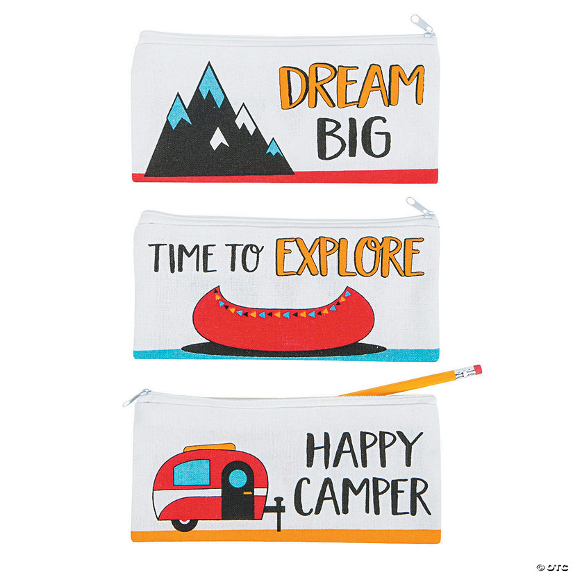 Adventure Canvas Pencil Cases