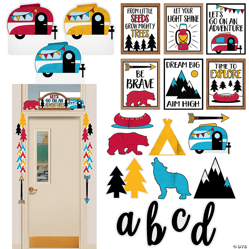 Adventure Classroom Decorating Kit Audio Thumbnail