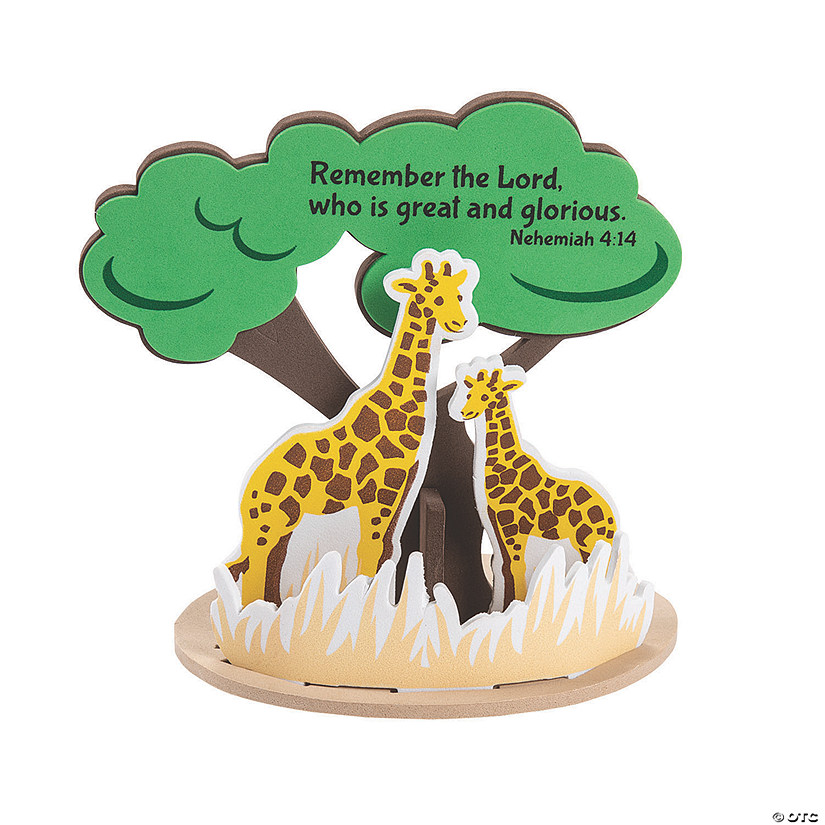 African Safari VBS 3D Tree Craft Kit Audio Thumbnail