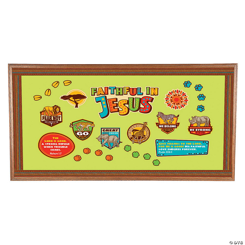 African Safari VBS Bulletin Board Set Audio Thumbnail