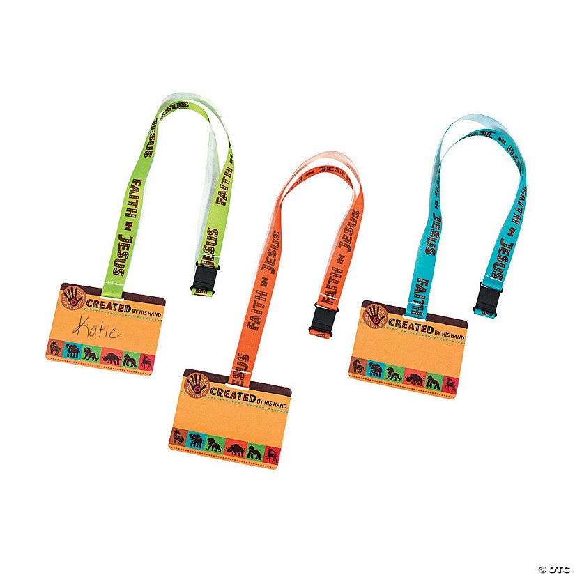 African Safari VBS Name Tag Lanyards Audio Thumbnail