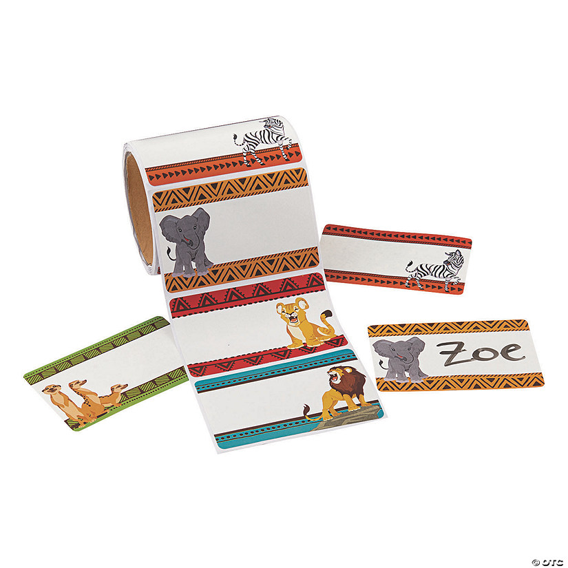 African Safari VBS Name Tags/Labels