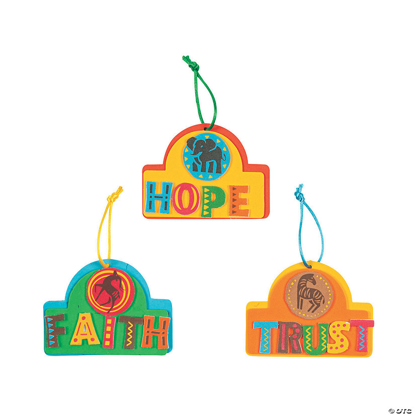 African Safari VBS Ornament Craft Kit Audio Thumbnail