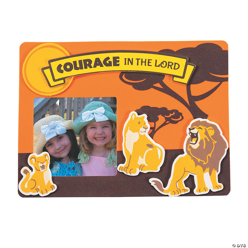 African Safari VBS Picture Frame Magnet Craft Kit - 12