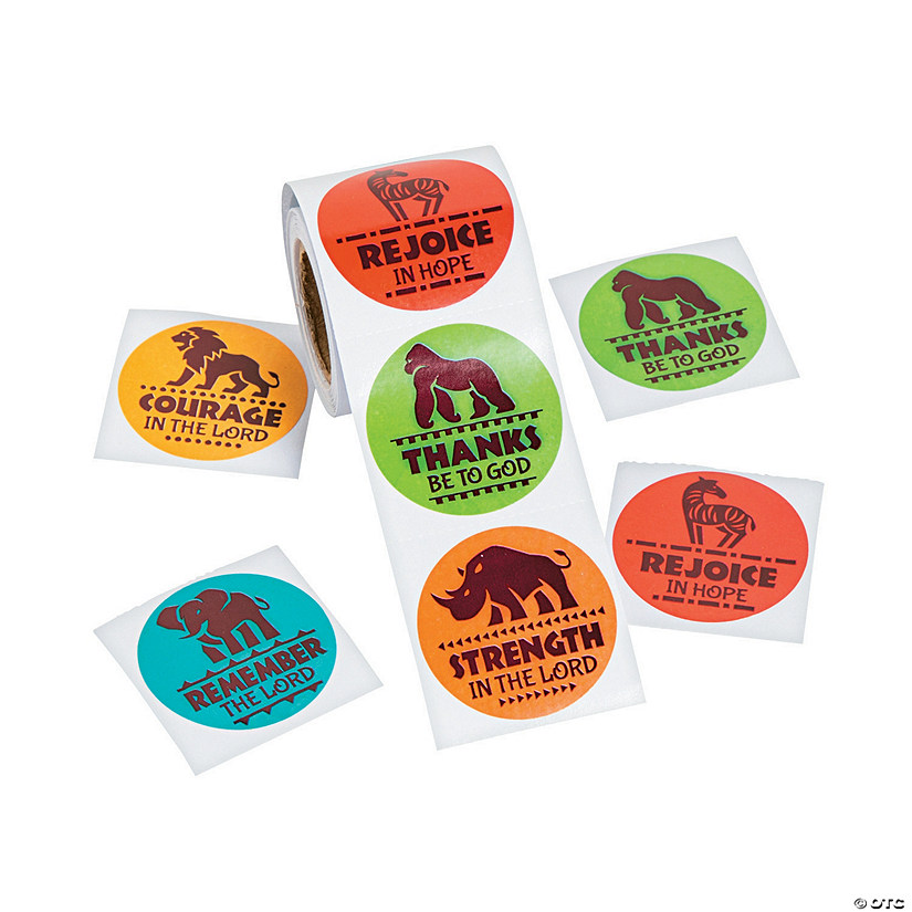 African Safari VBS Stickers