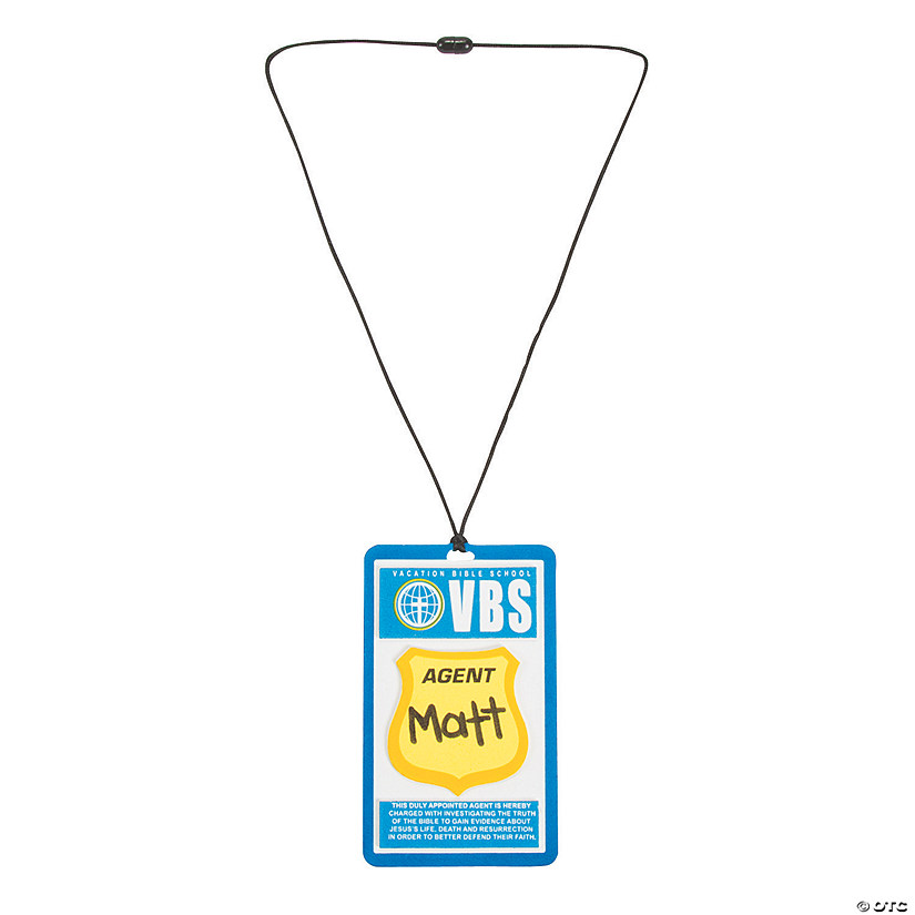 Agents of Truth VBS Nametag Holder Craft Kit Audio Thumbnail