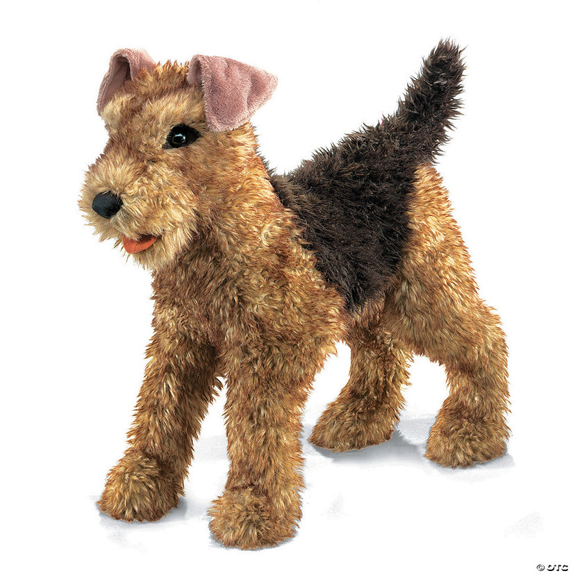 Airedale Terrier Puppet