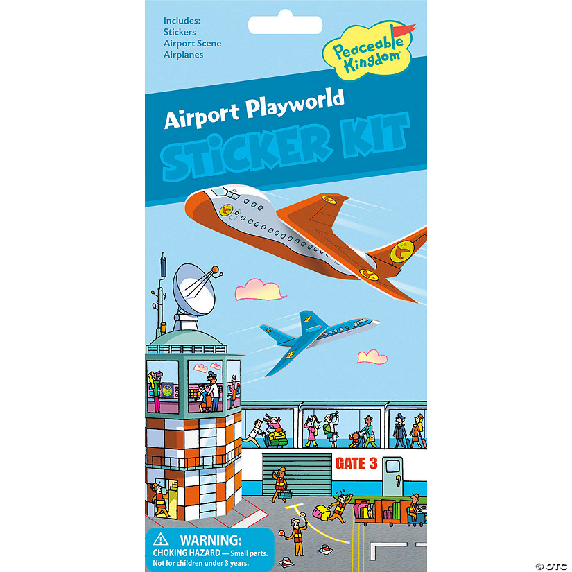 Airport Playworld Quick Sticker Kit Image Thumbnail