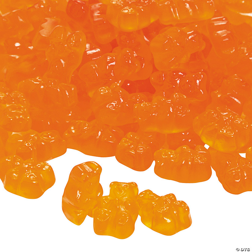 Albanese<sup>&#174;</sup> Gourmet Orange Gummy Teddy Bears Audio Thumbnail