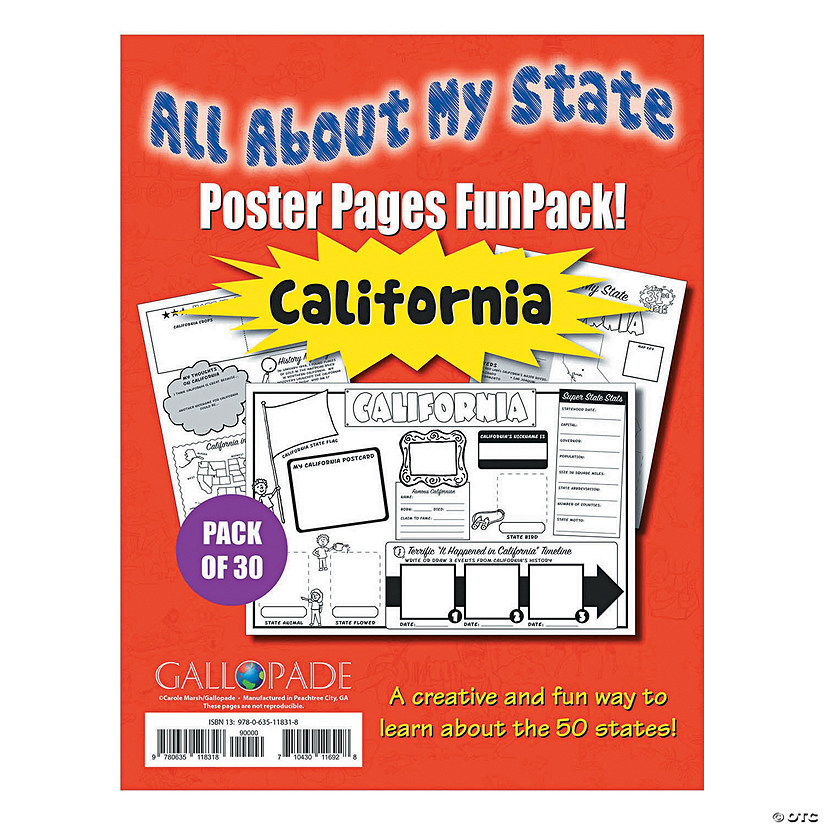 All About My State - California Funpack Audio Thumbnail