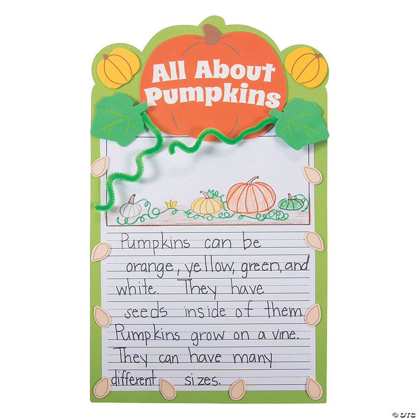 All About Pumpkins Writing Prompt Craft Kit Audio Thumbnail
