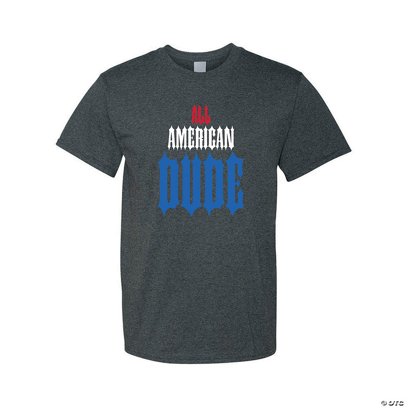 All-American Dude Adult's T-Shirt Audio Thumbnail