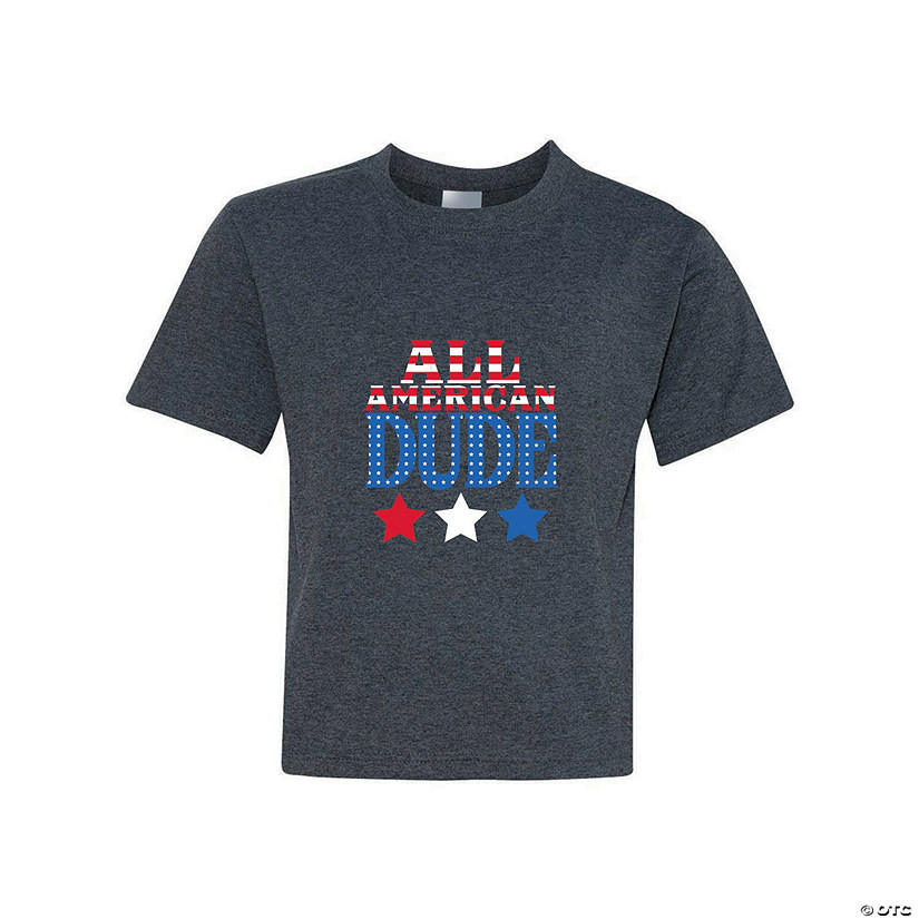 All American Dude Youth T-Shirt Image Thumbnail