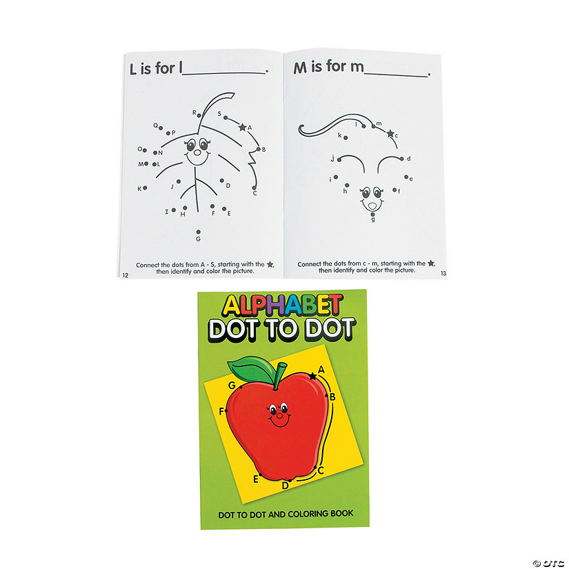 Alphabet Dot-to-Dot Activity Books Audio Thumbnail