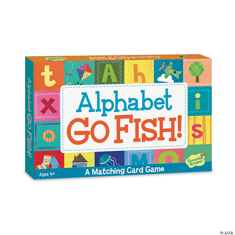 Alphabet Go Fish! Card Game Image Thumbnail