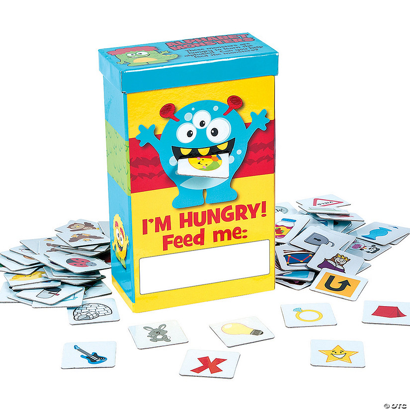 Alphabet Monster Game
