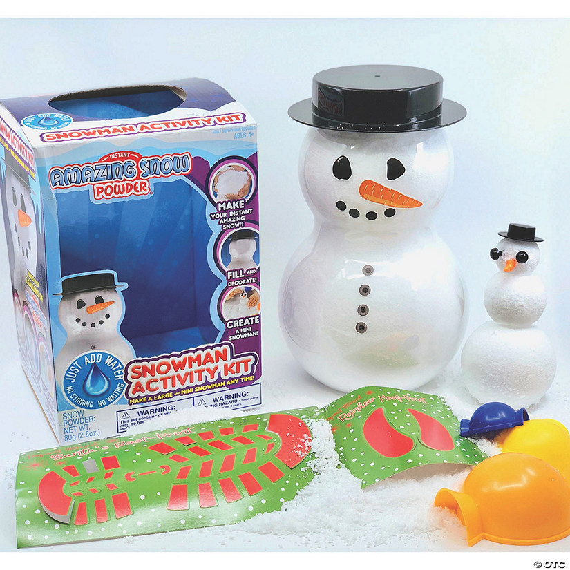 Amazing Snowman Activity Kit Image Thumbnail