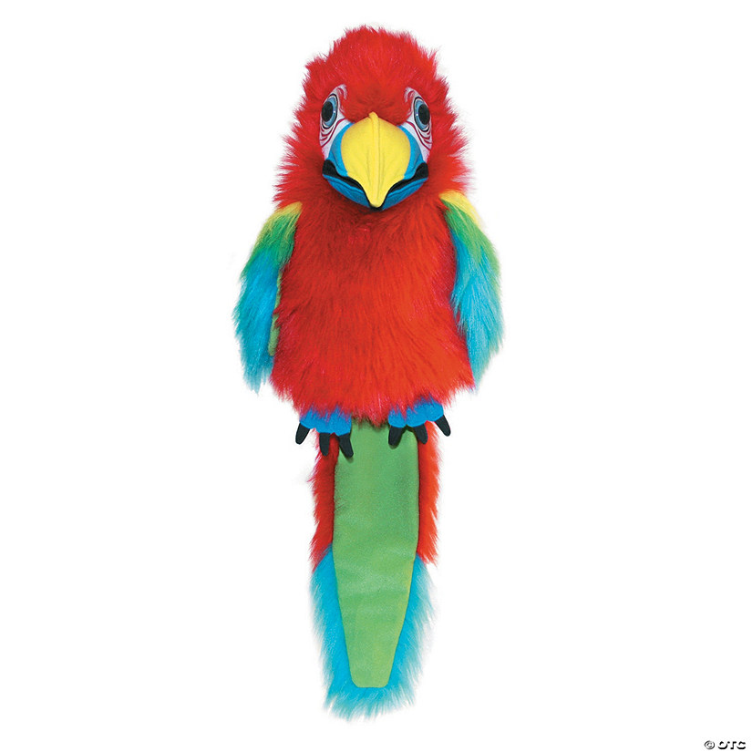 Amazon Macaw Large Plush Puppet Audio Thumbnail