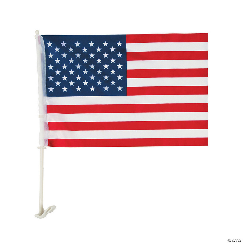 "American Car Flag - 16"" x 10 1/2"" Audio Thumbnail"