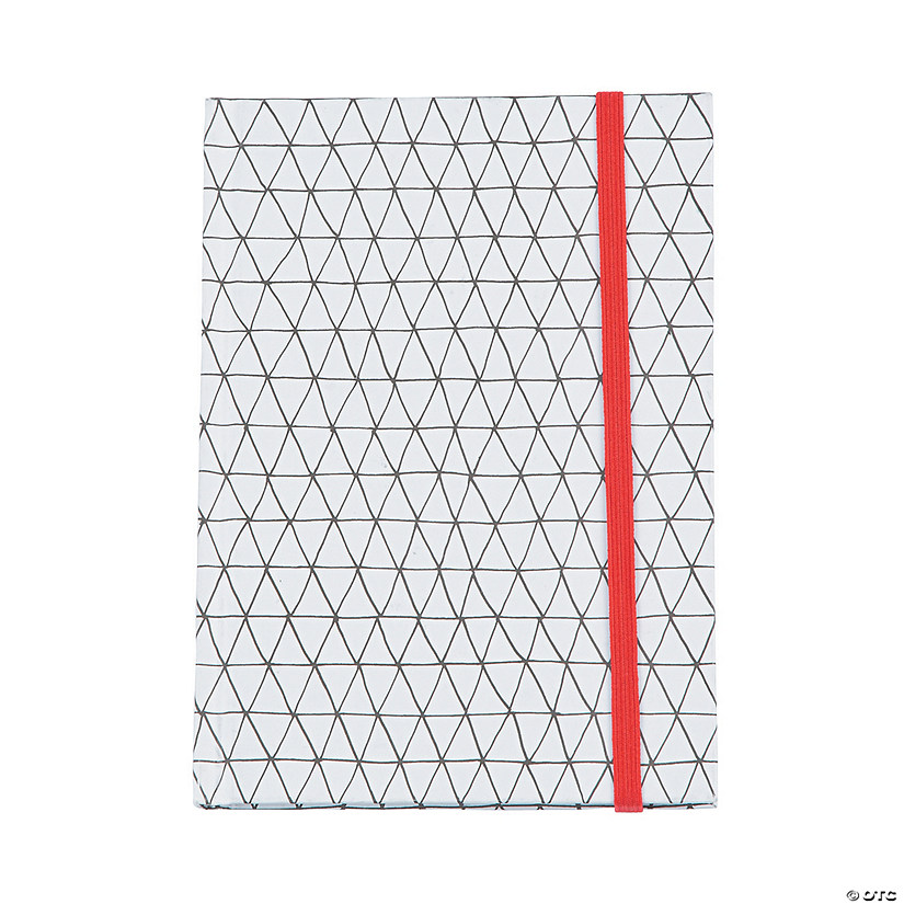 American Crafts™ Adult Coloring Elastic Geometric Notebook ...