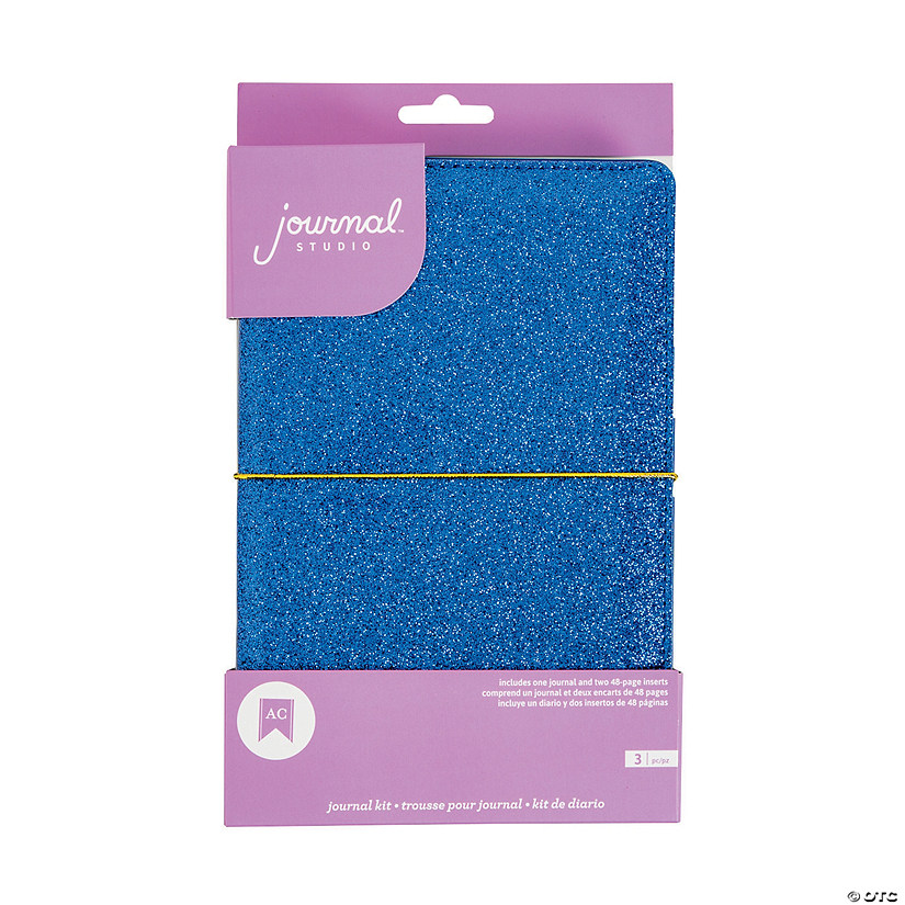 American Crafts™ Blue Glitter Journal Kit Audio Thumbnail