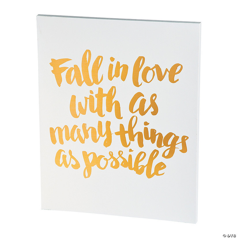 American Crafts™ Fall in Love Watercolor Panel