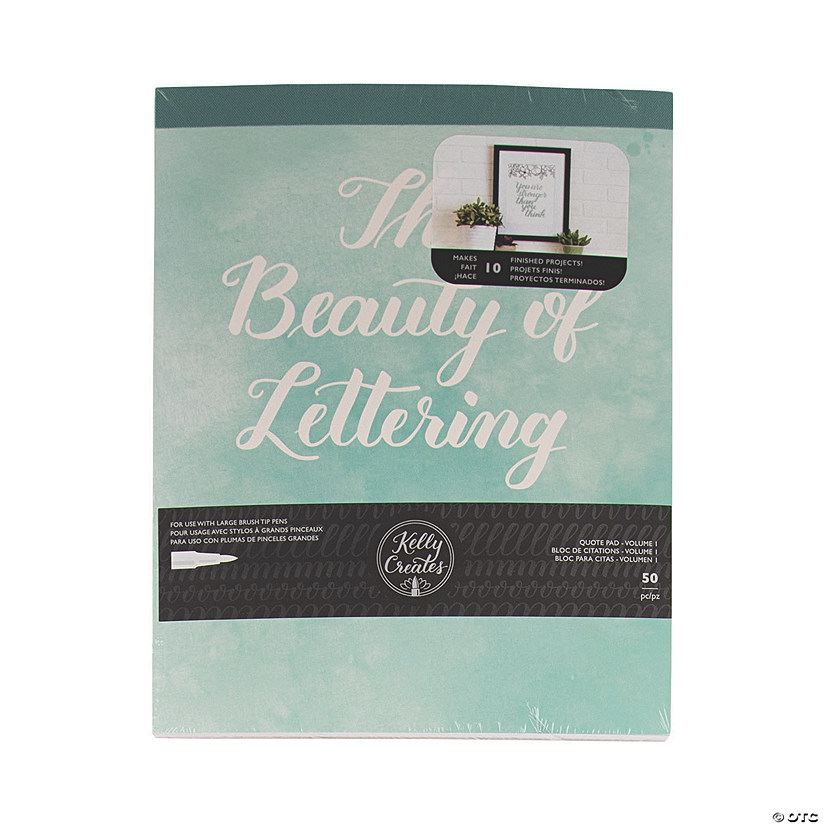 American Crafts™ Kelly Creates Beauty of Lettering Pad Audio Thumbnail