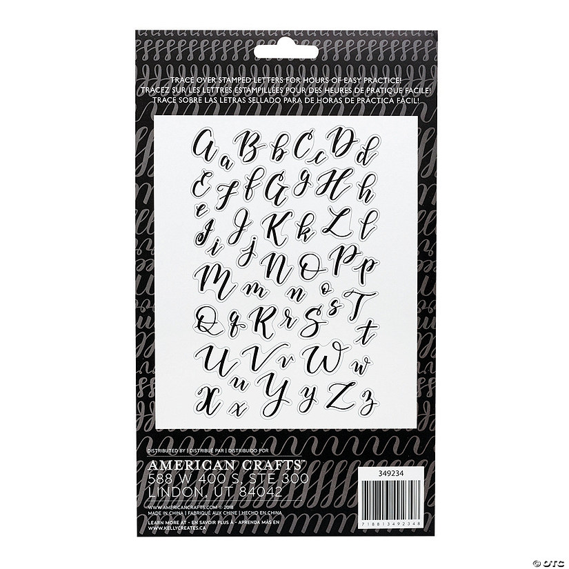 American Crafts™ Kelly Creates Bouncy Letters Stamps Audio Thumbnail