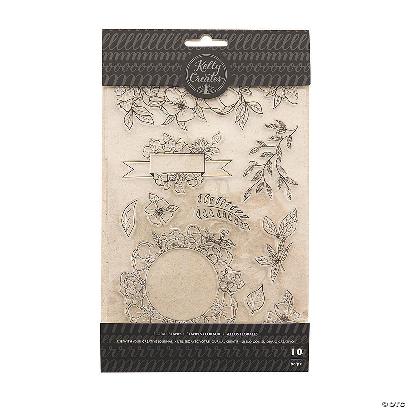 American Crafts™ Kelly Creates Floral Traceable Stamps Image Thumbnail
