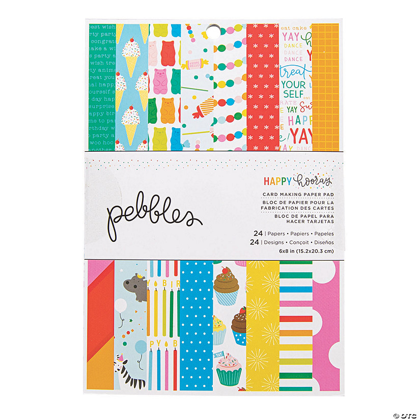 American Crafts™ Pebbles Happy Hooray Paper Pad Audio Thumbnail