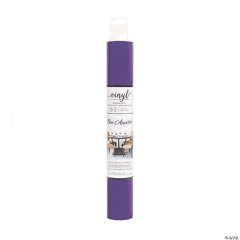 American Crafts™ Vinyl Adhesive Roll - Purple Audio Thumbnail