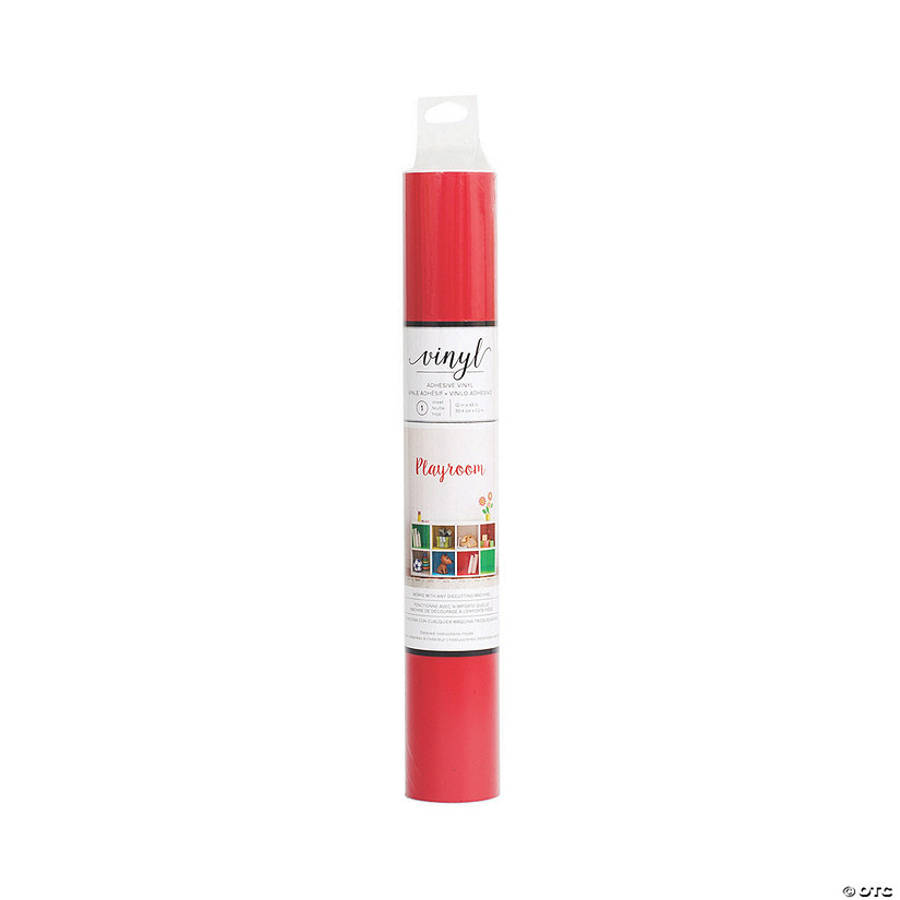 American Crafts™ Vinyl Adhesive Roll - Red Audio Thumbnail