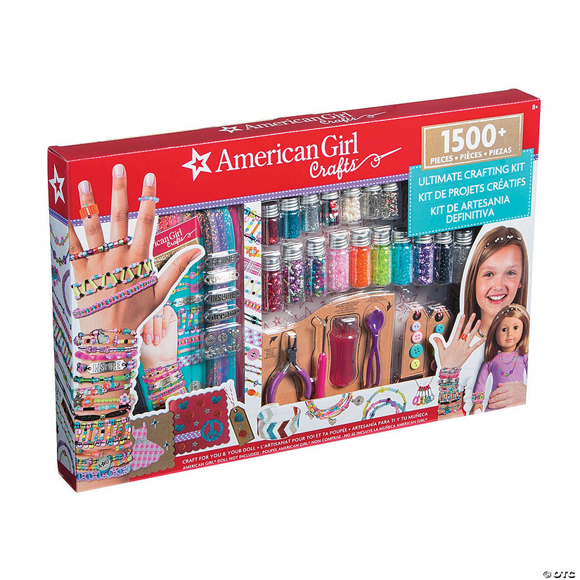 American Girl Crafts Sup Sup Ultimate Crafting Kit Discontinued