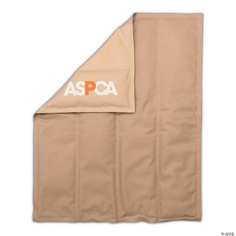 American Kennel Club Bone Reversible Cooling Mat Taupe