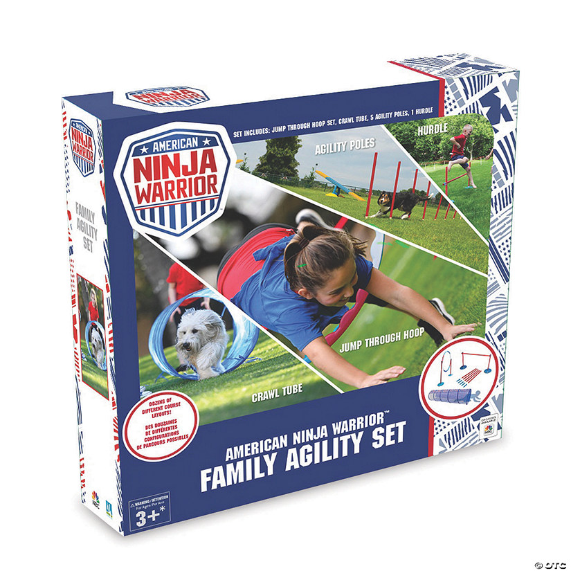 American Ninja Warrior Agility Kit Audio Thumbnail