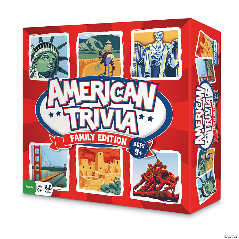 American Trivia Board Game: Family Edition Audio Thumbnail