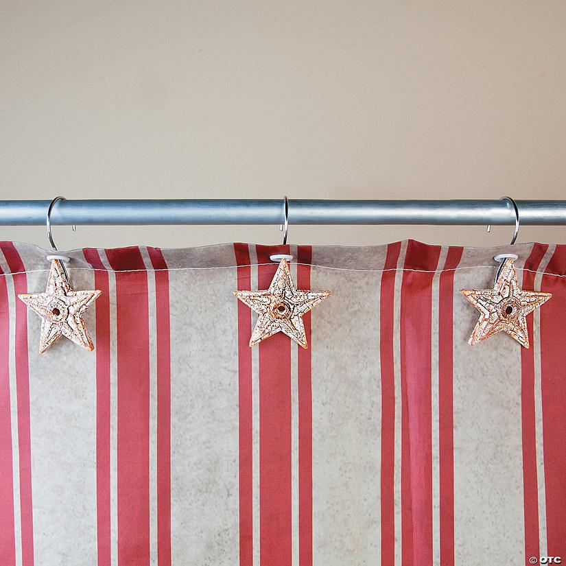 Americana Shower Curtain Hooks