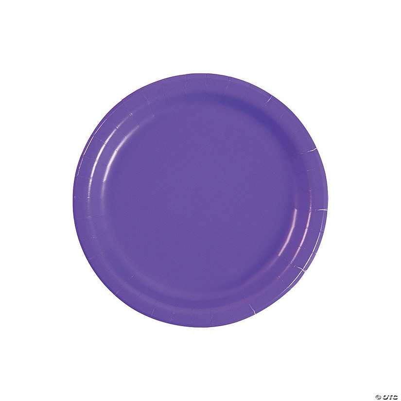 Amethyst Round Dessert Paper Plates Audio Thumbnail
