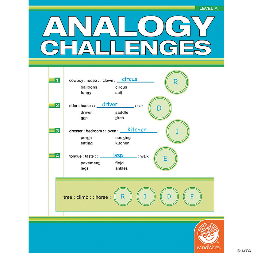 Analogy Challenges: Level A