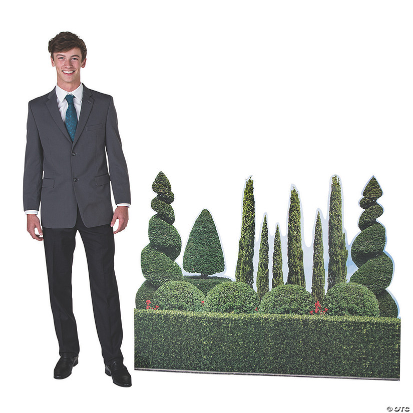 Ancient Greek Garden Hedge Cardboard Stand-Up Image Thumbnail
