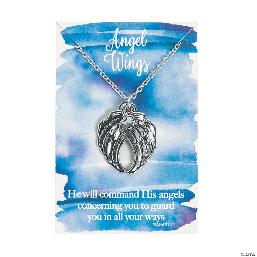 Angel Wings Necklaces on Cards Audio Thumbnail